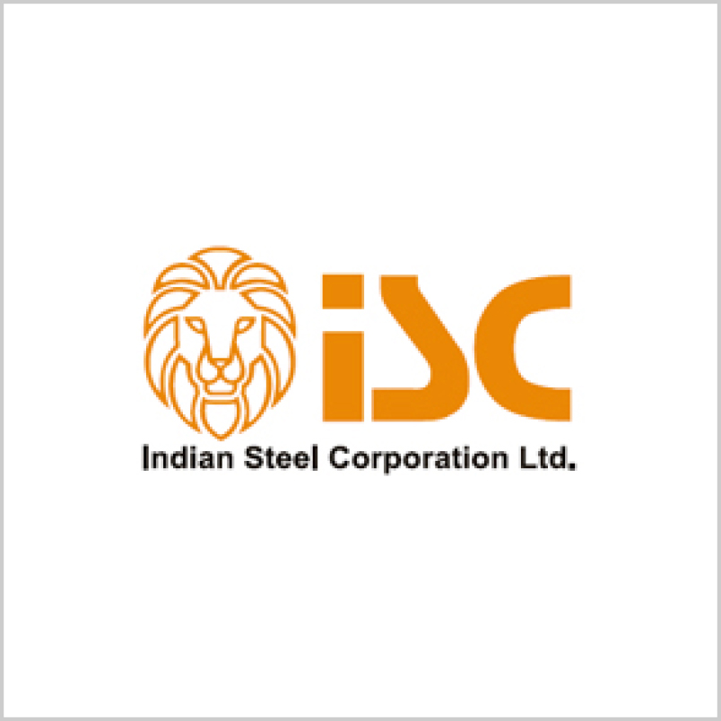 Indian steels corporation ltd logo